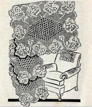 Free Filet Crochet Pattern Set