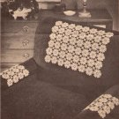 Daisy Crochet Patterns Chair Set Crochet