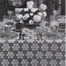 Crochet Vintage Thread Pagoda Tablecloth Motif Patterns PDF