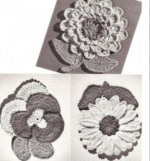 Crochet Potholder Pattern » Modern Crochet Patterns