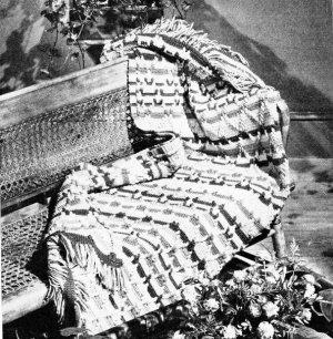 Blanket Striped Crochet Pattern Afghan Crochet
