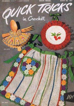 Crochet PDF Quick Tricks Pattern Coats Clarks Book 267