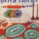 Quick Tricks 293, Vintage Pattern Books Crochet