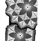 7356 Doily Crochet Pattern Mail Order Sizes Large and Small