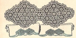 Crochet Lace Edging - How to crochet. Instructions, stitches and