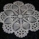 "Crochet Doily, Pineapple Pattern Doily, Crochet Pineapple Pattern 12"" Doilies and 15""  Listing Stats"