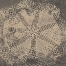 Doilies Thread Flower Ruffle Doily Crochet Pattern