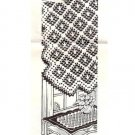 Doily Filet Crochet Scarf Vanity Table Runner