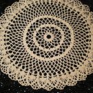 Old Doilies Patterns:Fan Edge Table Doily Pattern, Table Crochet Doilies Lace