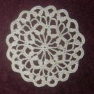 Crochet Coaster, Scallop Edge, Small Doily Coaster Pattern
