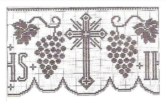 Filet Altar Table Edgings Crochet Patterns