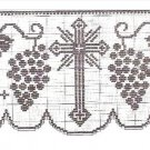 Filet Altar Table Edgings  Crochet Patterns
