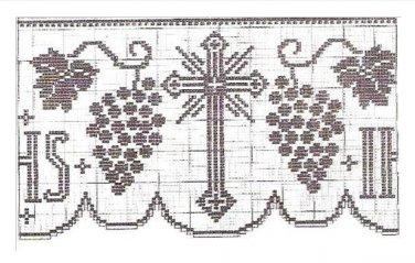 Crochet Edging Pattern, Crochet Altar Cloth Pattern