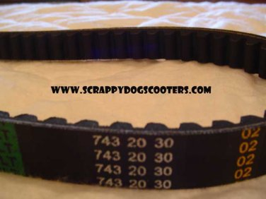 743-20-30 Belt 125/150cc GY6 157QMJ Chinese Scooter Moped ATV 152QMI Motorcycle Parts