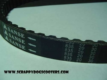 835-20-30 Belt 125/150cc GY6 157QMJ Chinese Scooter Moped ATV 152QMI Motorcycle Parts