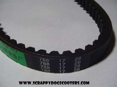 788-17-28 Belt 50cc 2 stroke Jog Minarelli 1E40QMB Chinese Scooter Moped Motorcycle Parts