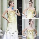 ELYSEMOD A-line Strapless Floor-length Twill Ladies Dress Quick Delivery/ Evening/ Fromal Dresses