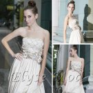 ELYSEMOD A-line Strapless Floor Length Quick Delivery/Wedding Dresses/ Prom Dresses