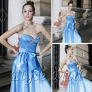 ELYSEMOD Trumpet/Mermaid Sweetheart Asymetrical Ruffles Quick Delivery/ Evening/ Fromal Dress