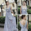 ELYSEMOD A-line Spaghetti Straps Floor-length Tencel Chiffon Quick Delivery/ Evening/ Party Dresses