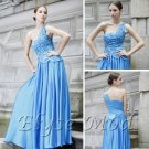 ELYSEMOD Ball Gown One Shoulder Floor Length Applique Quick Delivery Formal Wedding Party Dress