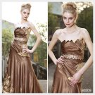 Trumpet / Mermaid Strapless Floor-length Sleeveless Quick Delivery/ Evening Dress 80209