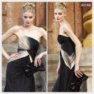 Elysemod Sheath / Column Strapless Floor-length Sleeveless Chiffon Evening Dress/Dresses 80188