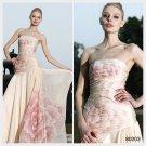 Elysemod A-line Strapless Ankle-length Sleeveless Chiffon Women's Dresses/ Evening Dress 80203