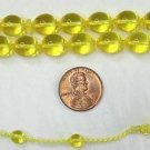 PRAYER BEADS SUPHA TESBIH TRANSPARENT GOLD AMBER