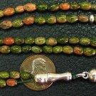 Islamic Prayer Beads 99 UNAKITE - by Tesbihci