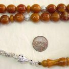 PRAYER WORRY BEADS KOMBOLOI SANDALOUS ROUND CUT