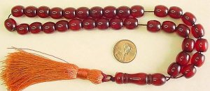 PRAYER WORRY BEADS KOMBOLOI WINE BARREL FATURAN
