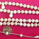 PRAYER BEADS TAGUA NUT VEGETAL SUBSTITUTE TO IVORY