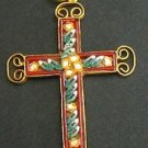VINTAGE MICRO MOSAIC CROSS - 1960'S - No 17 NEW OLD STOCK - RARE AND PRISTINE