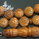 ISLAMIC PRAYER BEADS TESBIH CHAPELET KUKA EGYPTIAN MASTERS LARGE SIZE