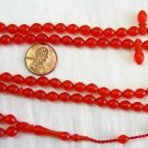 Prayer Beads Subha Tesbih 99 POMMEGRENADE TURKISH AMBER CATALIN