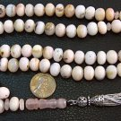 ISLAMIC PRAYER  BEADS PINK OPAL & STERLING