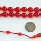 PRAYER BEADS TESBIH POMMEGRENADE TURKISH CATALIN AMBER SUFI CARVING COLLECTOR'S