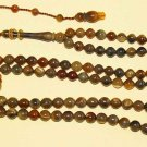 Islamic Prayer Beads Gebetskette Chapelet 99 BLOND CATTLE HORN