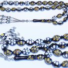 PRAYER WORRY BEADS TESBIH KUKA STUDDED BONE & HORN INLAID SPECIAL OFFER