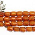 Islamic Prayer beads Tesbih antique Kahraman genuine Butterscotch Amber - XXXR