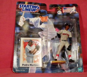 Pedro Martinez Starting Lineup 2000 Boston Red Sox Hall of Fame