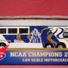 Duke Blue Devils Motorcoach Bus1:64 scale NCAA Chaampions 2001