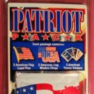 Patriot Pack - American Flag Pins, Stickers and Window Clings