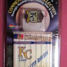 Kansas City Royals Pins and Cards Limited Edition