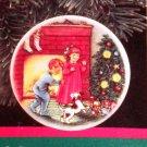 "Hallmark #3 ""Morning Of Wonder"" Ornament Plate 1989"