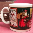 Avon Santa Thru the Ages Mug - Gallery Originals