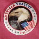 "Quantity 10 - 3"" American Pins 9/11"