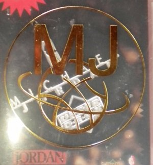 Michael Jordan Pogs SET Upper Deck Milk Caps BLACK