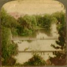 1884 Palm Gardens Bridge Frankfort, Germany Postcard